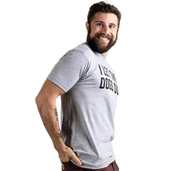 Ann Arbor T-shirt Co. Graphic Tshirt 3 I Let The Dogs Out | Funny Dog Walker Joke Pet Owner Humor Men Women T-Shirt