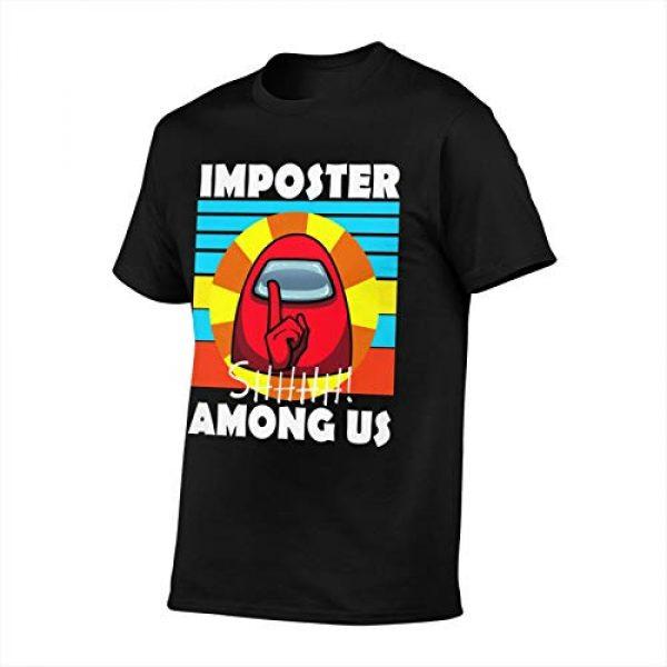 Zulfdli Graphic Tshirt 2 Among Us 3D T-Shirt Print Fabric Soft, Comfortable and Dry for All-Day Comfort