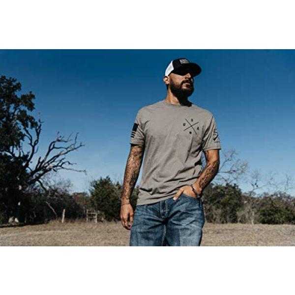 Grunt Style Graphic Tshirt 2 Basic Simple USA - Men's T-Shirt