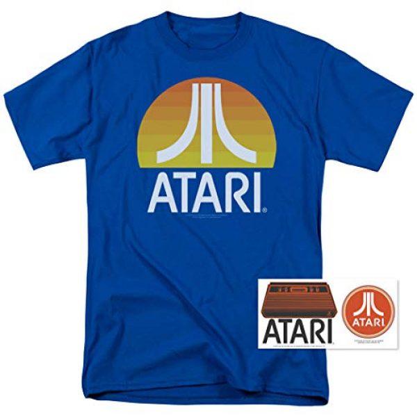 Popfunk Graphic Tshirt 2 Atari Video Game Retro Logo Vintage Gaming Console T Shirt & Stickers