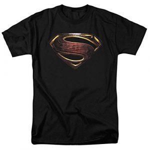 Popfunk Graphic Tshirt 1 Justice League Movie Superman Logo DC Comics T Shirt & Stickers