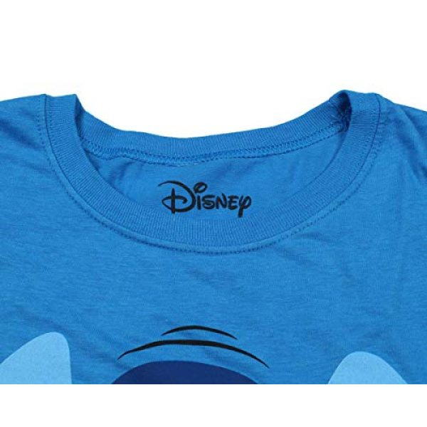 Disney Graphic Tshirt 4 Lilo And Stitch Juniors Stitch Face Character Graphic Licensed T-Shirt