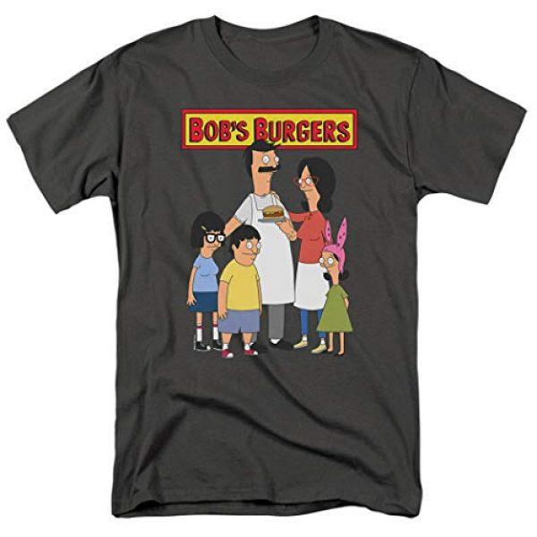 Popfunk Graphic Tshirt 1 Bob's Burgers Bob and Family T Shirt & Stickers