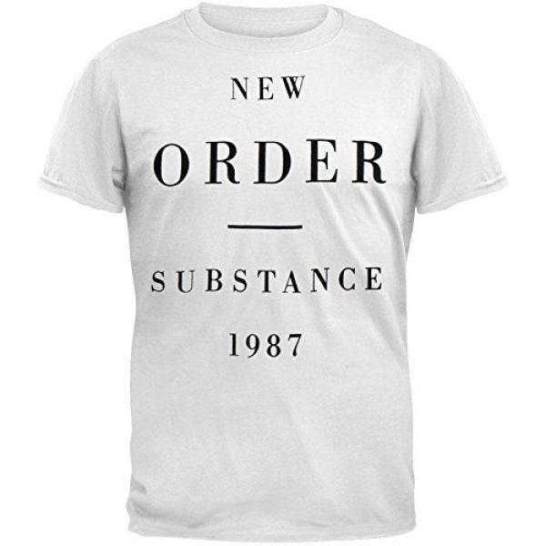 Bluestar Graphic Tshirt 1 New Order Substance 1987 Mens T-shirt