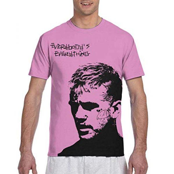 YFCTYLS Graphic Tshirt 1 Lil Peep Man Novelty 3D Printed Short Sleeve T-Shirt