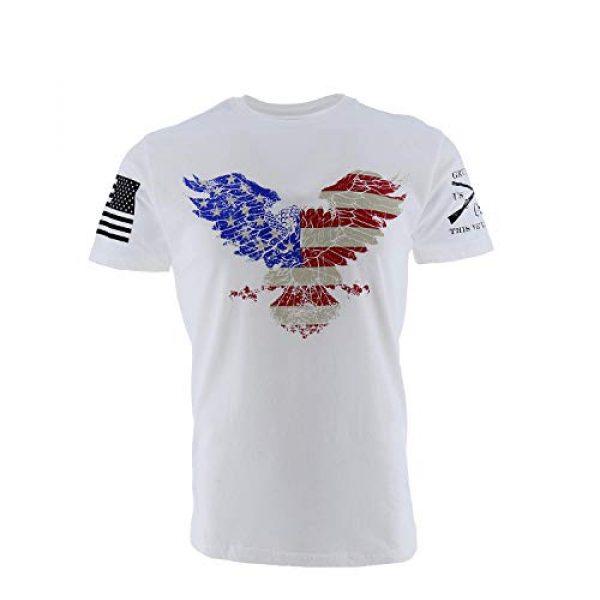 Grunt Style Graphic Tshirt 1 Freedom Eagle Men's T-Shirt