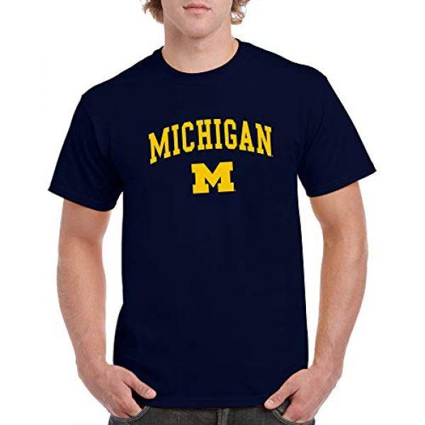 UGP Campus Apparel Graphic Tshirt 4 NCAA Arch Logo, Team Color T Shirt, College, University