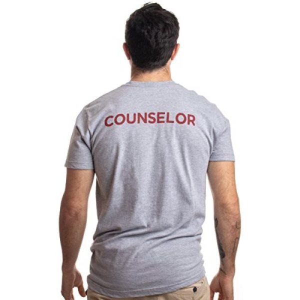 Ann Arbor T-shirt Co. Graphic Tshirt 4 1980 Camp Crystal Lake Counselor | Funny 80s Horror Movie Fan Humor Joke T-Shirt