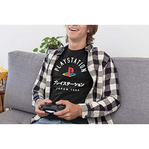 Ripple Junction Graphic Tshirt 3 Playstation Adult Unisex Japan 1994 Light Weight 100% Cotton Crew T-Shirt