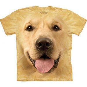 The Mountain Graphic Tshirt 1 Big Face Yellow T-Shirt