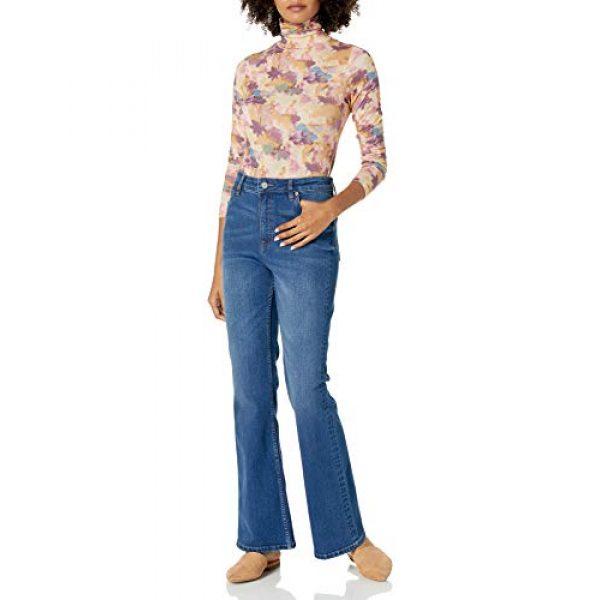 Graphic Tshirt 3 Women's Phoebe Long Sleeve Turtleneck Second Skin T-shirt
