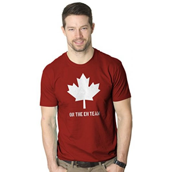 Crazy Dog T-Shirts Graphic Tshirt 2 Mens On The Eh Team Canada T Shirt Funny Novelty Sarcasm Canadian Gift Cool