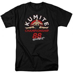 Trevco Graphic Tshirt 1 Bloodsport Classic 80s Action Film Kumite Championship '88 Adult T-Shirt Tee
