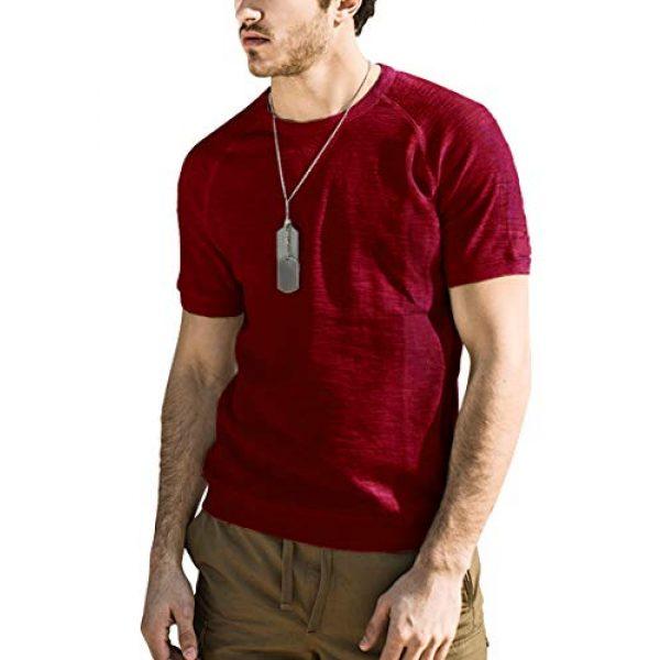 PEGENO Graphic Tshirt 1 Men's Spring-Summer Short-Sleeve T-Shirt Slim Bottoming Shirts