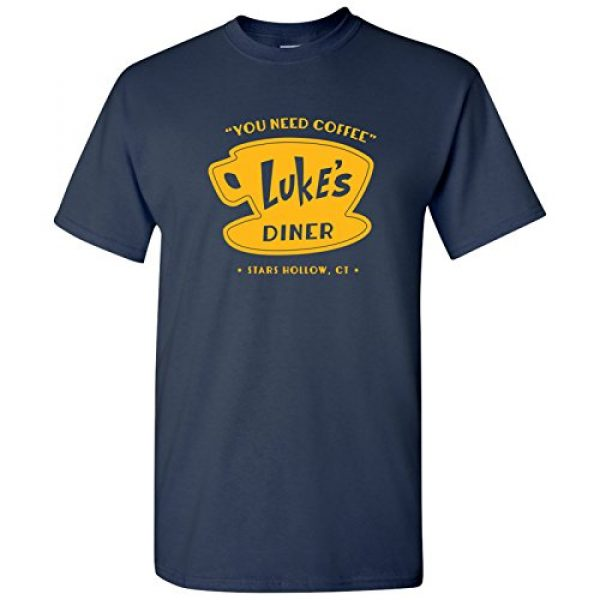 UGP Campus Apparel Graphic Tshirt 1 Luke's Diner - Stars Hollow Coffee Novelty TV Show T Shirt