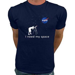 Market Trendz Graphic Tshirt 1 Official Logo NASA I Need My Space   NASA T Shirts Kids   NASA Clothing Men