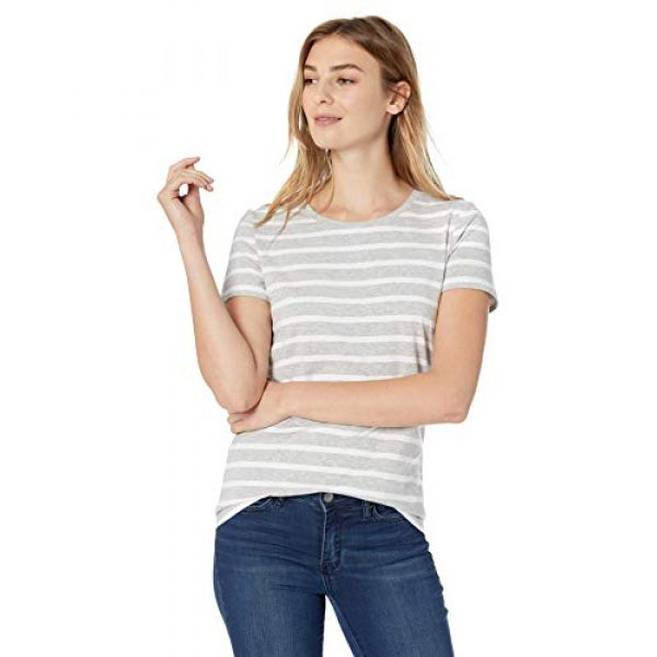 Amazon Essentials Graphic Tshirt 2 Women's 2-Pack Classic-Fit Short-Sleeve Crewneck T-Shirt