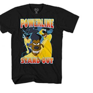 Disney Graphic Tshirt 1 Goofy Movie Powerline Stand Out Tour Mens T-Shirt