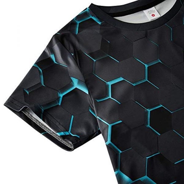 Idgreatim Graphic Tshirt 4 Unisex Casual 3D Print Animal Short Sleeve T-Shirt Graphic Tees