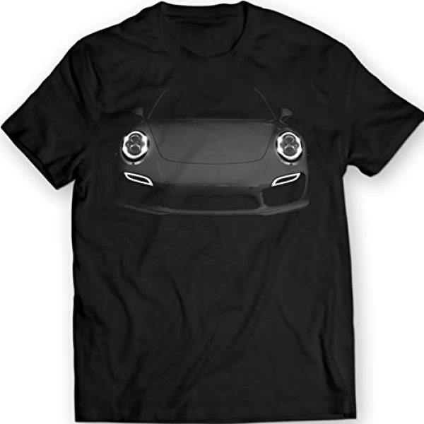 DTG Printing Graphic Tshirt 1 911 Turbo S 991 T-Shirt 100% Cotton German Car
