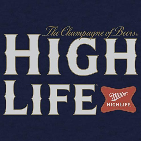 Tee Luv Graphic Tshirt 2 Miller High Life Shirt - Miller Champagne of Beers Logo T-Shirt