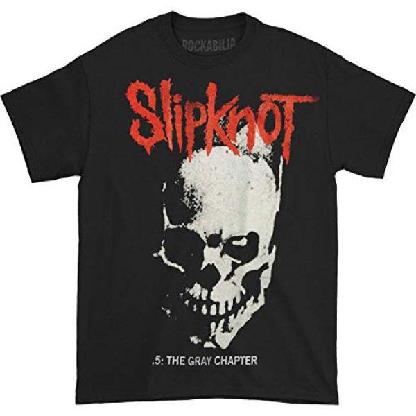 Bravado Graphic Tshirt 1 Slipknot Skull & Tribal Black T-Shirt