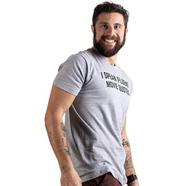 Ann Arbor T-shirt Co. Graphic Tshirt 3 I Speak Fluent Movie Quotes | Funny Film Fan Sarcasm Humor Men Women T-Shirt