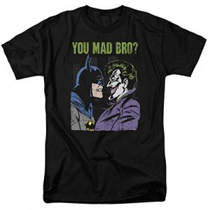 Popfunk Graphic Tshirt 1 Batman Vs.The Joker You Mad Bro T Shirt and Stickers