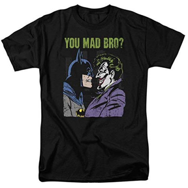 Popfunk Graphic Tshirt 1 Batman Vs.The Joker You Mad Bro T Shirt and Stickers