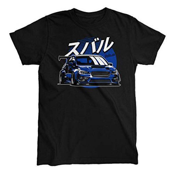 STYLN Graphic Tshirt 1 Subie Fifth Generation Blue T-Shirt
