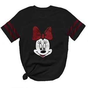 Miracle TM Graphic Tshirt 1 Minnie Graphic Women Mouse Tees Shirt - Adul Mickey Casual Novelty T Shirt for Men