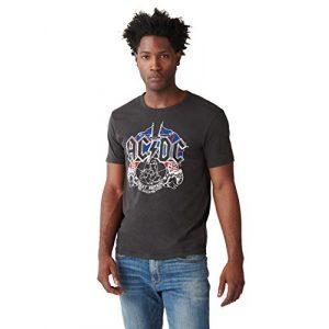 Lucky Brand Graphic Tshirt 1 Men's Short Sleeve Crew Neck ACDC UK Tour Tee Shirt