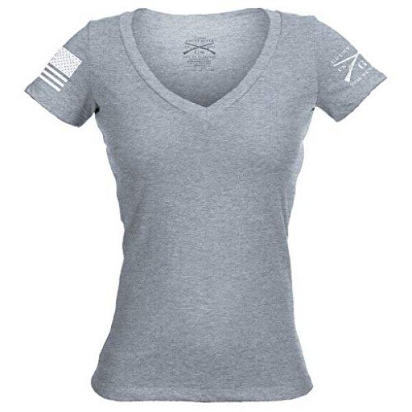 Grunt Style Graphic Tshirt 1 Basic V-Neck Women's T-Shirt