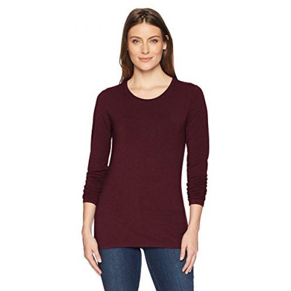Amazon Essentials Graphic Tshirt 1 Women's Classic-Fit Long-Sleeve Crewneck T-Shirt