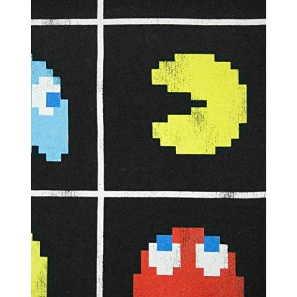 """Pac-Man Graphic Tshirt 5 """"Game Over Men's Official Tic Tac Toe Retro Character T-Shirt"""
