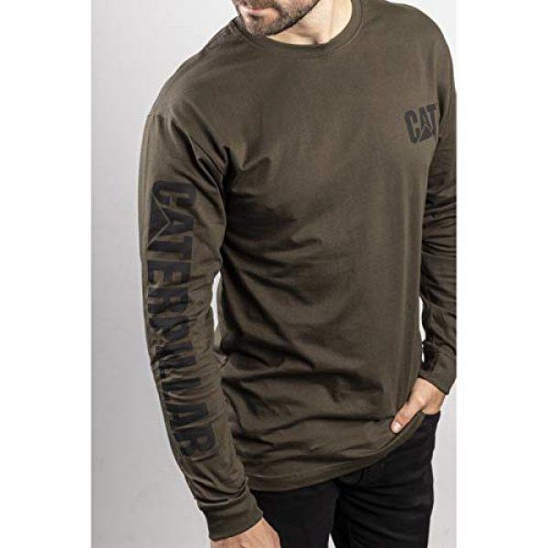 Caterpillar Graphic Tshirt 5 Men's Trademark Banner Long Sleeve T-Shirt