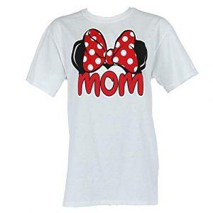 Disney Graphic Tshirt 1 Adult Plus Size Womens T-Shirt Mom Family Tee