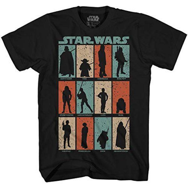 Star Wars Graphic Tshirt 1 Find Me Luke Vader Yoda Chewie Boba Fett Han Solo Leia Ewok Movie Skywalker Adult Men's Graphic Tee T-Shirt