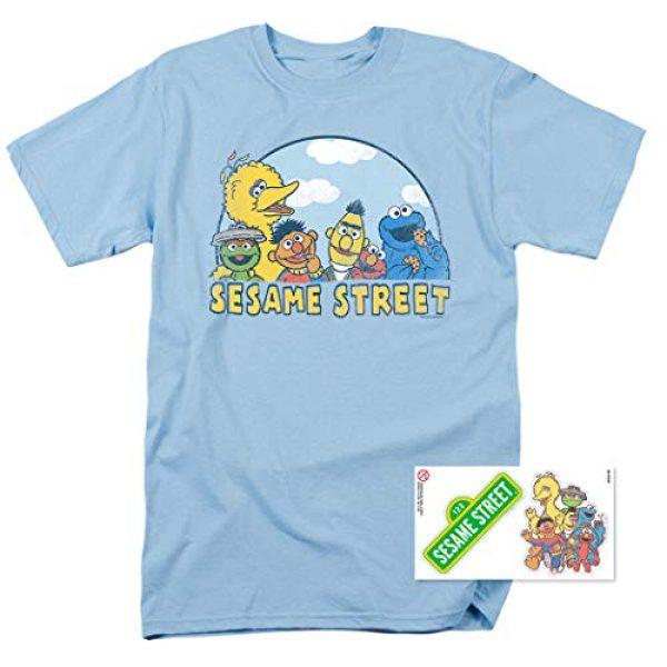 Popfunk Graphic Tshirt 2 Sesame Street Group T Shirt & Stickers