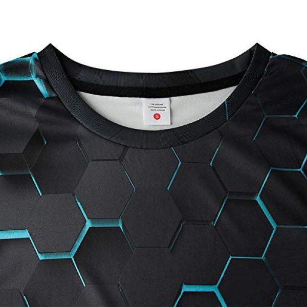 Idgreatim Graphic Tshirt 3 Unisex Casual 3D Print Animal Short Sleeve T-Shirt Graphic Tees
