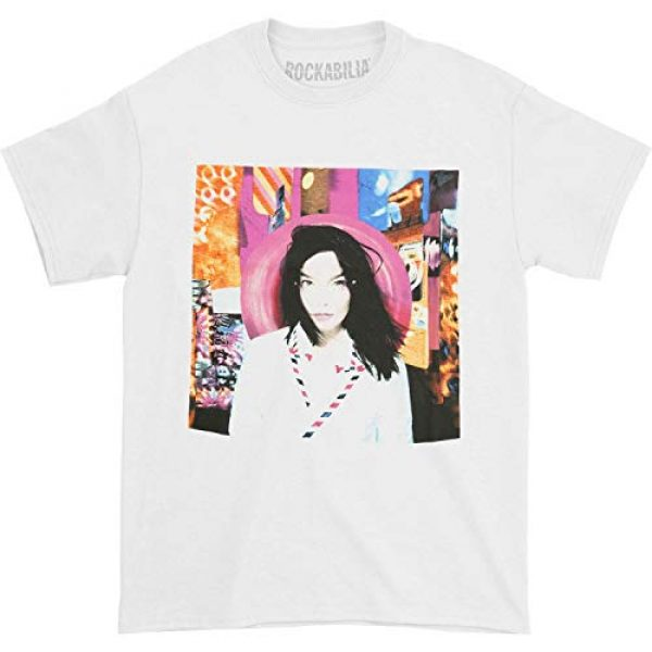 Global Graphic Tshirt 1 Bjork Men's Post T-Shirt White
