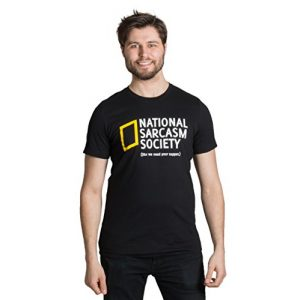 Ann Arbor T-shirt Co. Graphic Tshirt 1 National Sarcasm Society (Like we Need Your Support) | Funny Sarcastic T-Shirt