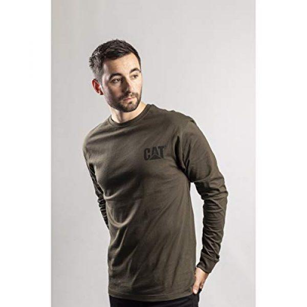 Caterpillar Graphic Tshirt 4 Men's Trademark Banner Long Sleeve T-Shirt
