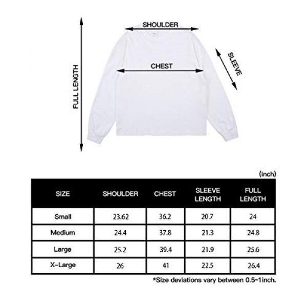 NAGRI Graphic Tshirt 7 ASAP Rocky Testing Long Sleeve Tshirt Injured Generation Tour Hip Hop Letter Printed Graphic Hoodie Black