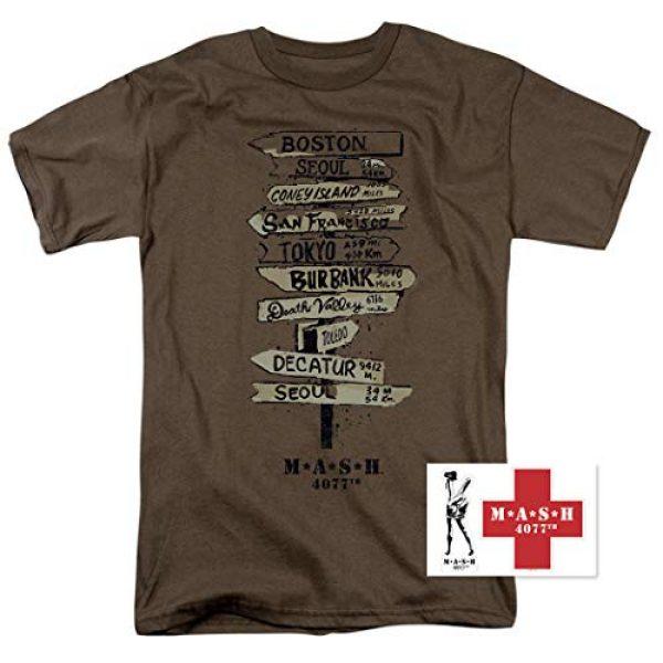 Popfunk Graphic Tshirt 2 MASH Fingerpost T Shirt & Stickers