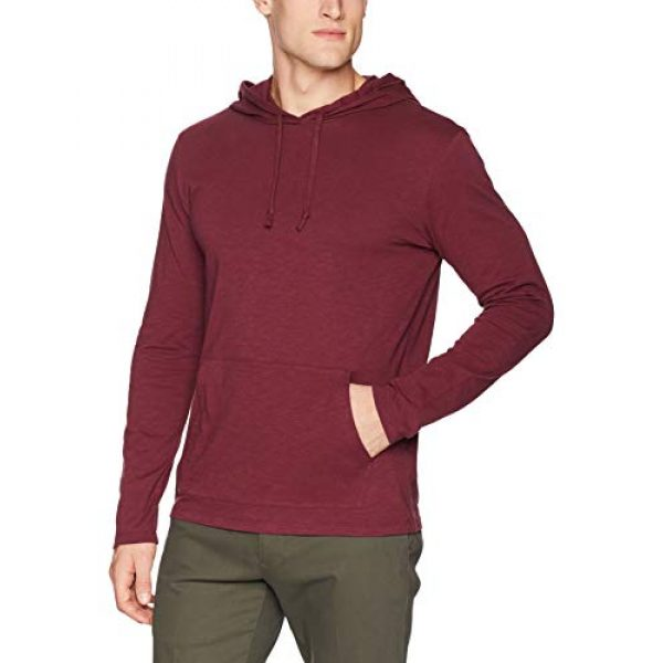 Goodthreads Hoodie 2 Amazon Brand - Goodthreads Men's Lightweight Slub T-Shirt Hoodie