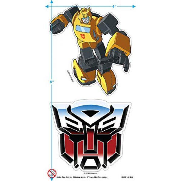 Popfunk Graphic Tshirt 3 Transformers Bumblebee T Shirt & Stickers