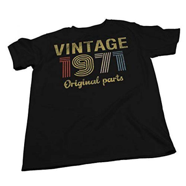 ShirtInvaders Graphic Tshirt 3 50th Birthday Gift Shirt - Retro Birthday - Vintage 1971 Original Parts