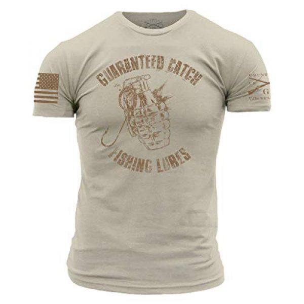 Grunt Style Graphic Tshirt 1 Guaranteed Catch Men's T-Shirt