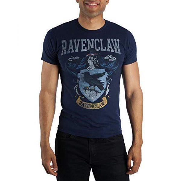 Harry Potter Graphic Tshirt 1 Ravenclaw Crest Mens Navy Blue Hogwarts T-Shirt